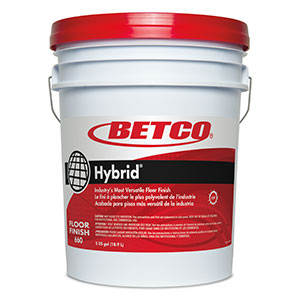 Betco Hybrid® Floor Finish - 5 Gallon Pail
