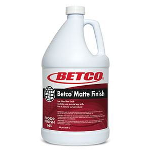 Betco® Matte Finish - 1 Gallon, 4/Case