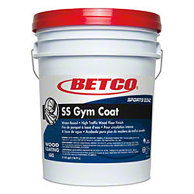 Betco[R] SS Gym Coat High Traffic Wood Floor Finish