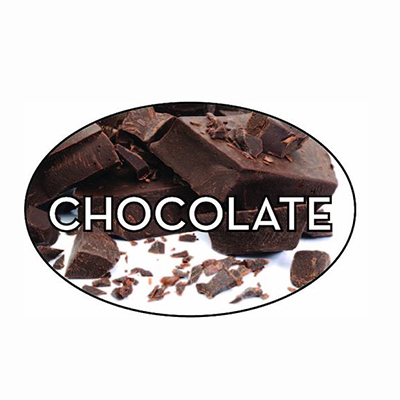 Chocolate  Label  13508