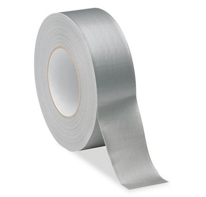 Industrial Grade Duct Tape - Silver, 96 mm x 55 m, 10.2 mil, 12/Case