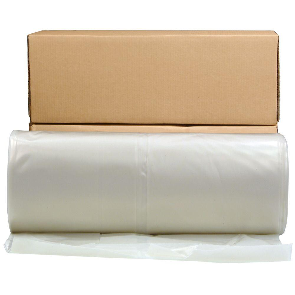 Clear Poly Sheeting - 4ft x 200ft x 2mil