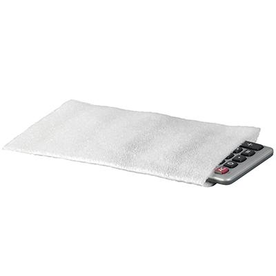Flush Cut Foam Pouches White 4 x 8 500//Case