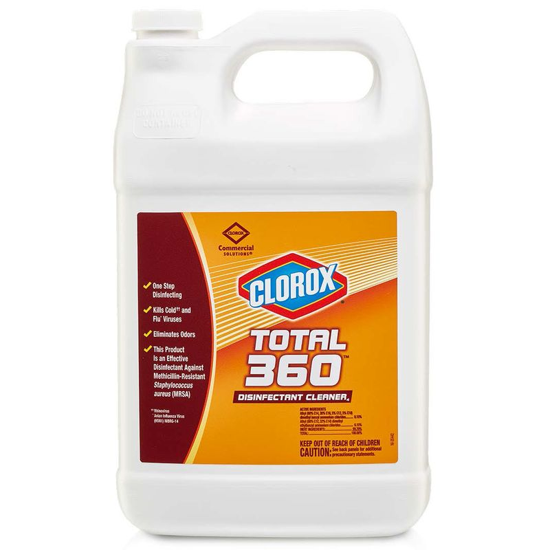 Clorox® Total 360 Disinfectant Cleaner - 1 Gal, 4/Case