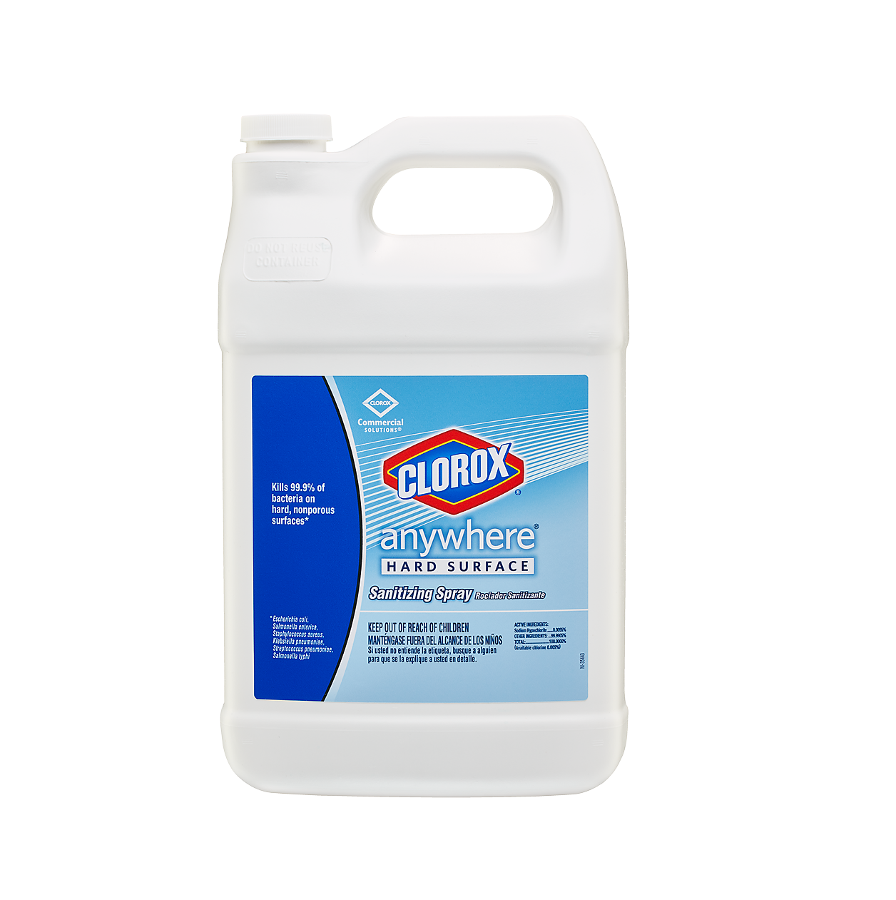 Clorox® Anywhere® Hard Surface Sanitizing Spray - 128 fl. oz., 4/Case