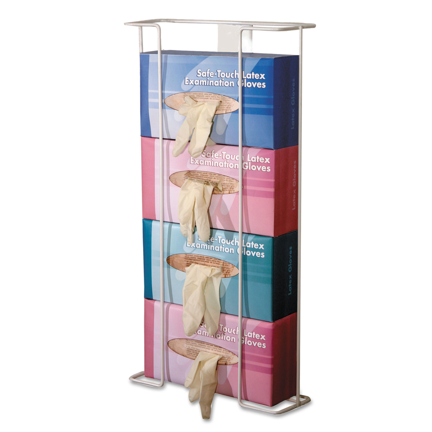 Wire Glove Dispenser Holds 2 Boxes