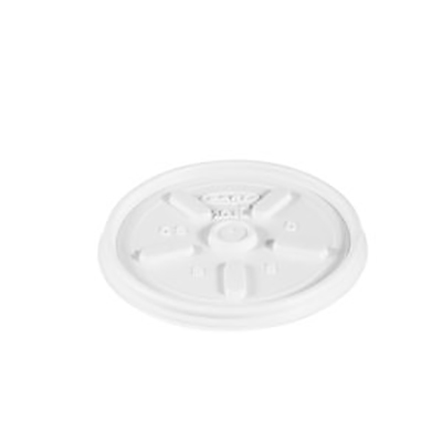 Dart® Vented Lid - 3.4in, White