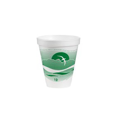 J Cup® Insulated Foam Cup - 12oz, Forest Green Horizon®