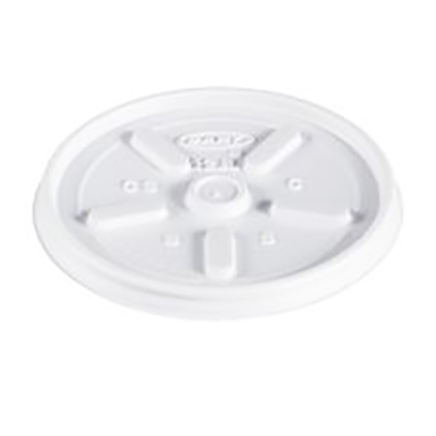 Dart® Vented Lid - 3.5in, White