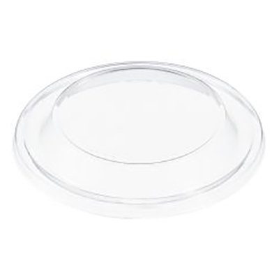 Dart® Non-Vented Dome Lid - 4.2in, Clear