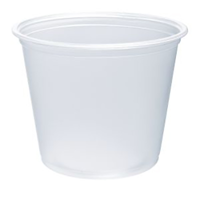 Conex Complements® Polypropylene Portion Container - 5.5oz, Translucent