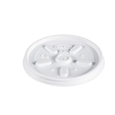 Dart® Vented Lid - 3.2in, White