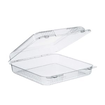 StayLock® Clear Container with hinged Lid - 9in