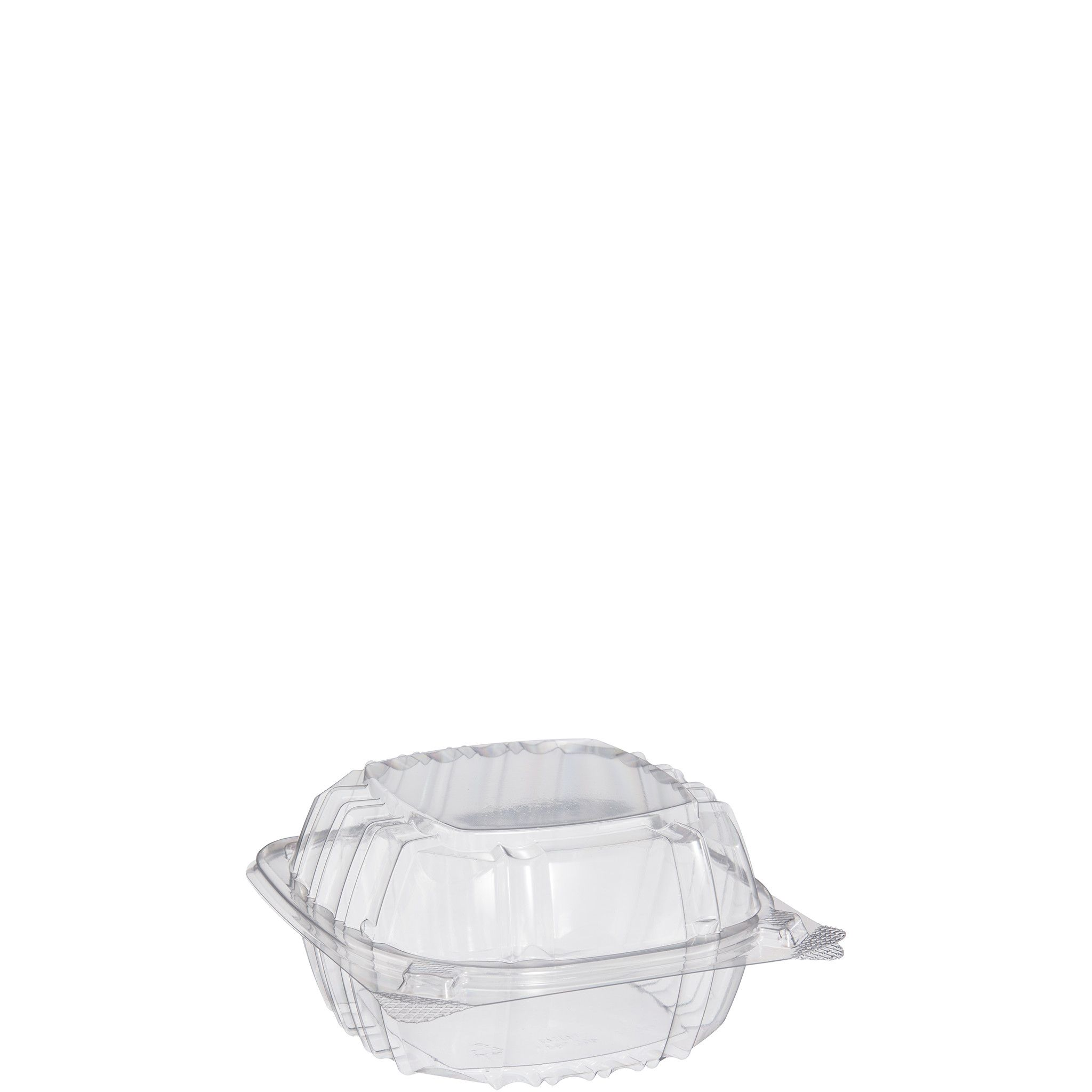 ClearSeal® Sandwich Container with Hinge Lid - 6in, Clear