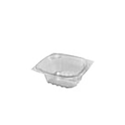 ClearPac® Plastic Container - 6oz, Clear