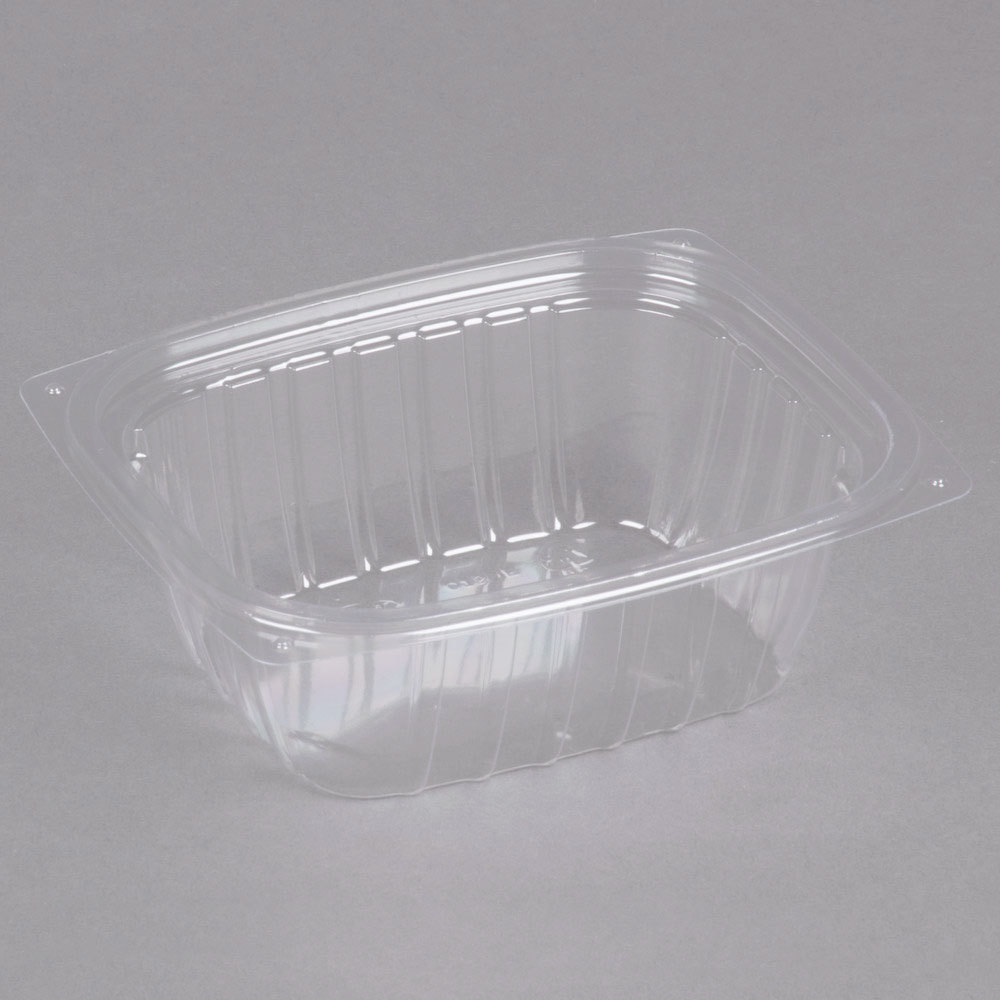 ClearPac® Plastic Container - 8oz, Clear