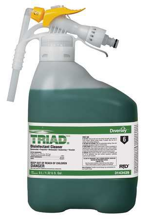 Diversey Triad III Disinfectant Cleaner - 5 L RTD