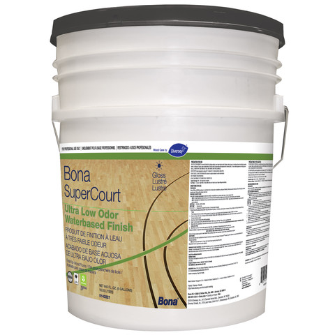 Diversey Bona SuperCourt Ultra Low Odor - 5 Gallon Pail