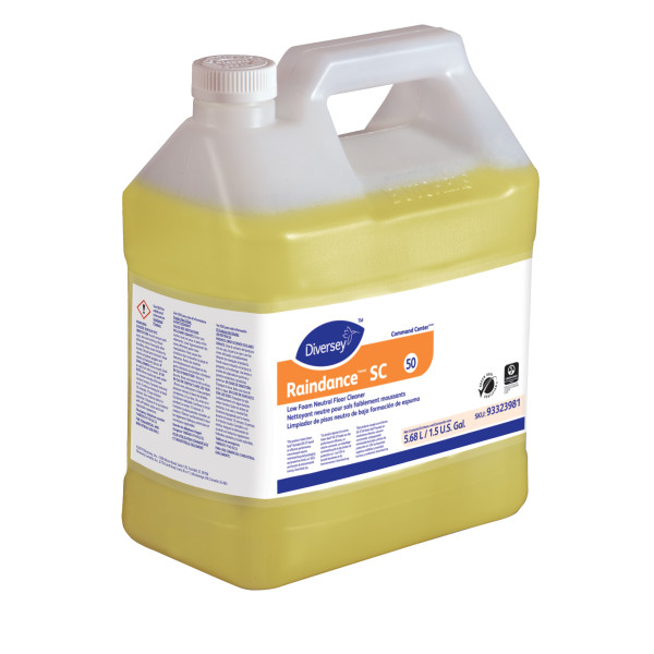 Diversey RaindanceTM/MC Low Foam Neutral Floor Cleaner #50 - 1.5 Gallon, 2/Case