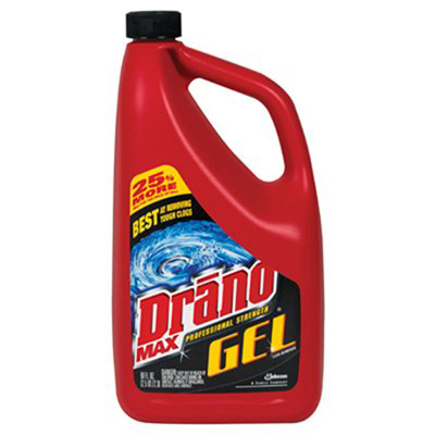 Drano® Max Gel Clog Remover Professional Strength - 80oz, 6/Case