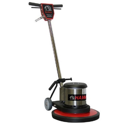 Hawk Professional Rotary Orbital Floor Machine with Pad Driver - 17