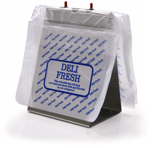 Deli Fresh Bag with Top Load Slider - 10in x 8in x 1.25mil, Blue