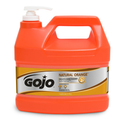 GOJO® NATURAL* ORANGE™ Smooth Hand Cleaner -1 Gallon Pump Bottle
