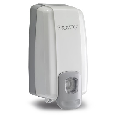 PROVON® NXT® Space Saver™ Push-Style Soap Dispenser - Dove Gray