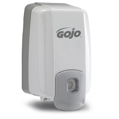 GOJO® NXT® Maximum Capacity™ Push-Style Lotion Soap Dispenser - Dove Gray
