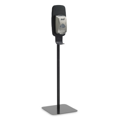PURELL® Dispenser Floor Stand for LTX™ and TFX™ Series - Monarch Black