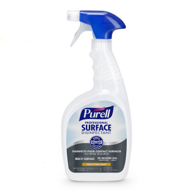 PURELL® Professional Surface Disinfectant - 32fl oz, Capped Bottle with Spray Trigger