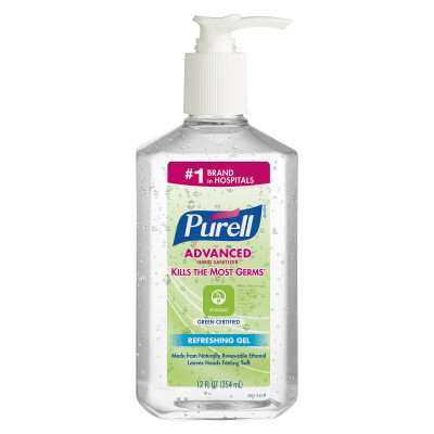 GOJO[R] Purell[R] Advanced Instant Hand Sanitizer - 12 oz.