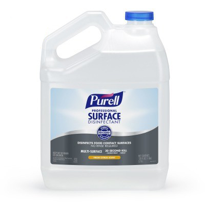 Purell® Professional Surface Disinfectant - 1 Gallon, 4/Case