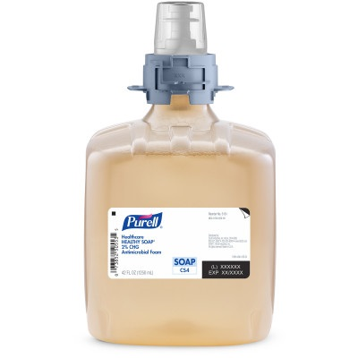 Purell® Healthcare Healthy Soap® 2.0% CHG Antimicrobial Foam, 3 refills