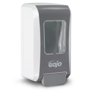 GOJO® FMX-20™ Push-Style Foam Soap Dispenser - White and Gray