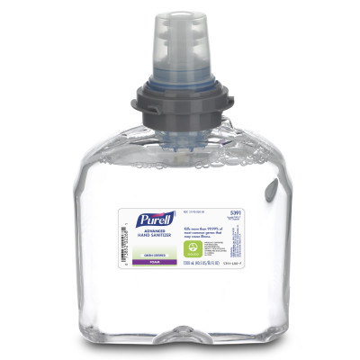 PURELL® TFX™ Advanced Green Certified Instant Hand Sanitizer Foam - 1200 mL Refill, 2/Case