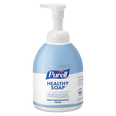 GOJO PURELL® Healthcare CRT HEALTHY SOAP™ High Performance Foam - 535 mL Counter Top Pump, 4/Case