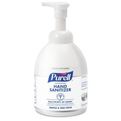 Purell® Advanced Green Certified Instant Hand Sanitizer Foam - 535 mL Table Top  Pump Bottle