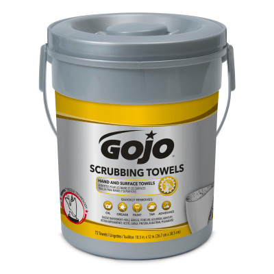 GOJO® Scrubbing Towels - 72 count Bucket