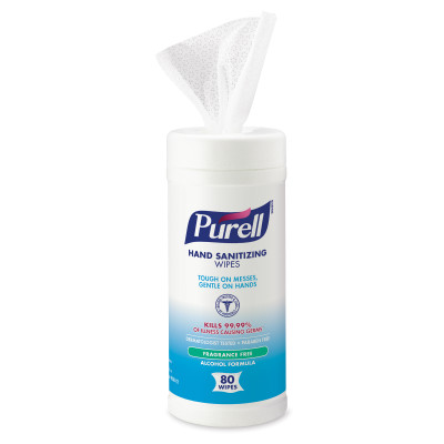 PURELL® Alcohol Formula  Hand Sanitizing Wipes - 80 count