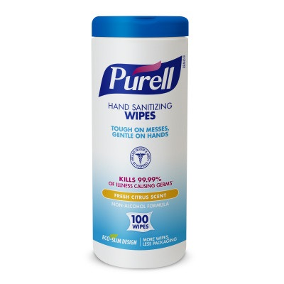 PURELL® Hand Sanitizing Wipes - 100 count Eco-Slim