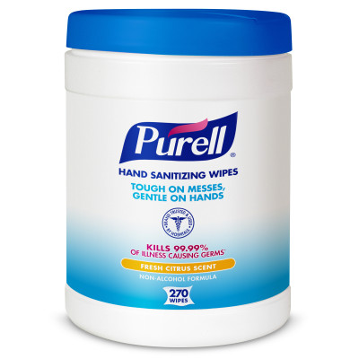 PURELL® Hand Sanitizing Wipes - 270 count Eco-Fit