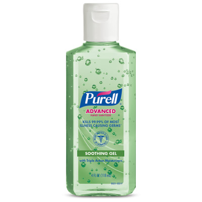 PURELL® Advanced Hand Sanitizer Aloe Gel - 4oz, Portable
