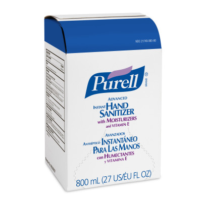 PURELL® Bag-in-Box  Advanced Hand Sanitizer Gel - 800mL Refill