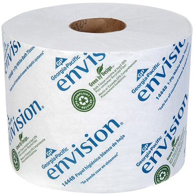 GP Envision® 1-Ply High Capacity Standard Bathroom Tissue -