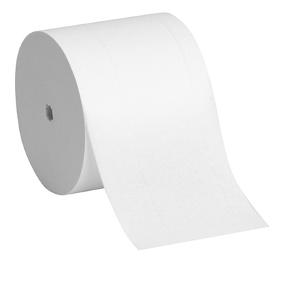 GP Angel Soft® Professional Series® Compact®  Coreless 2-Ply Premium Embossed Toilet Paper - 750 sheets