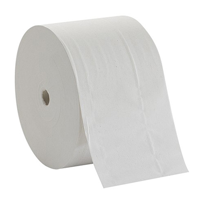 GP Compact® Coreless High Capacity 2-Ply Toilet Paper - 1,500 sheets, White