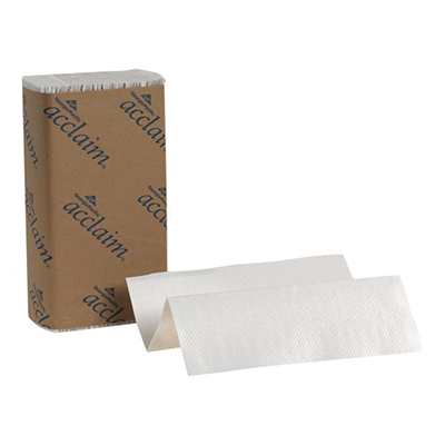 GP Acclaim® Multifold Paper Towel - 9.2in x 9.4in, White