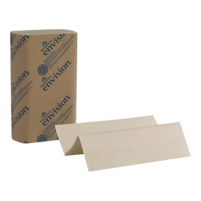 GP Envision® Multifold Paper Towels - 9.2in x 9.4in, Brown