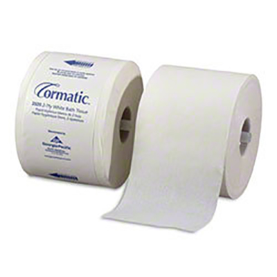 Gp2520 Cormatic Wht 2Ply Bathroom Tiss